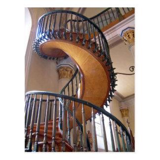 Miraculous Staircase, Loretto Chapel Santa Fe Postcard