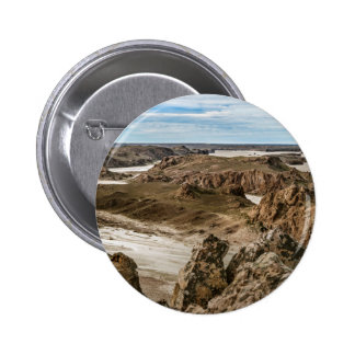 Miradores de Darwin, Santa Cruz Argentina 6 Cm Round Badge