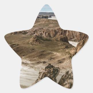 Miradores de Darwin, Santa Cruz Argentina Star Sticker