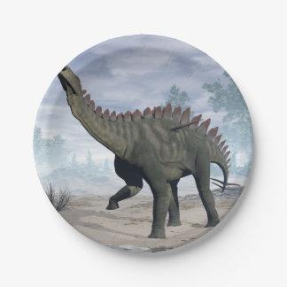 Miragaia dinosaur - 3D render Paper Plate