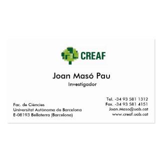 MiraMon team Business card