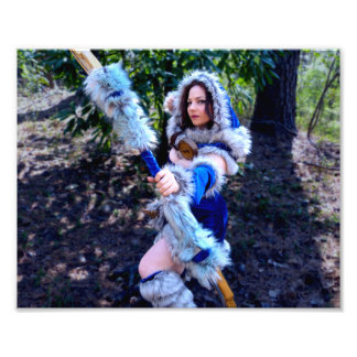 Mirana on the Hunt Photo Print