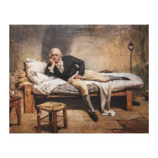 Miranda en La Carraca by Arturo Michelena (1896) Stretched Canvas Prints
