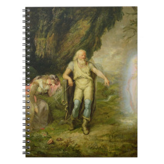 Miranda, Prospero and Ariel, from 'The Tempest' by Notebooks