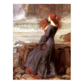 Miranda The Tempest by John William Waterhouse Postcard