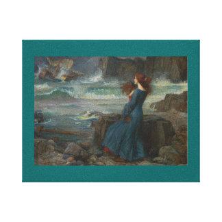 Miranda (The Tempest) Canvas Print