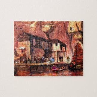 MIRIAM - Shanghai market Jigsaw Puzzle