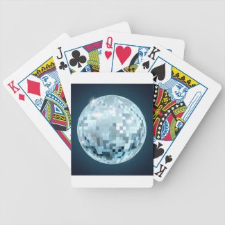 Mirror Ball Bicycle Playing Cards