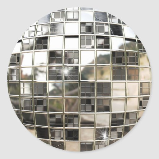 Mirror Ball Stickers