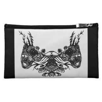 MIRROR GRASSHOPPERS COSMETIC BAG