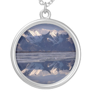 Mirror Image, Greenland Silver Plated Necklace