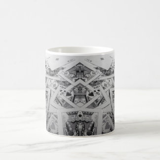 Mirror Image Playing Cards Coffee Mug