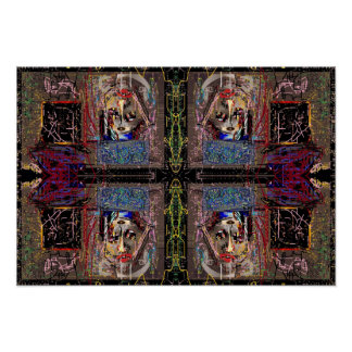"""""""Mirror Image"""" Small Poster"""