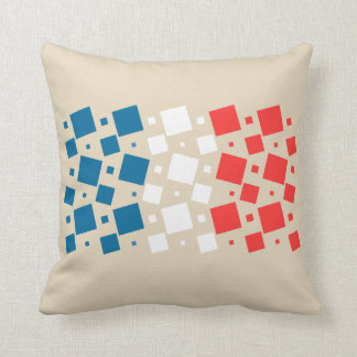 Mirror Inspired by France Flag Cushion