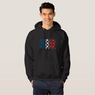 Mirror Inspired by France Flag Hoodie