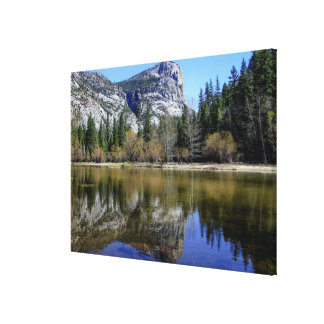 Mirror Lake Stretched Canvas Print