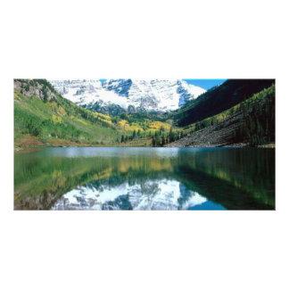 Mirror Lake Customised Photo Card