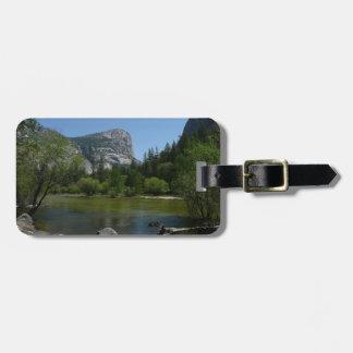 Mirror Lake II in Yosemite National Park Luggage Tag