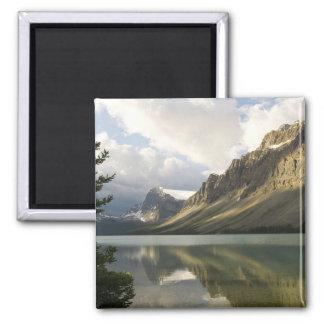 Mirror Lake Square Magnet