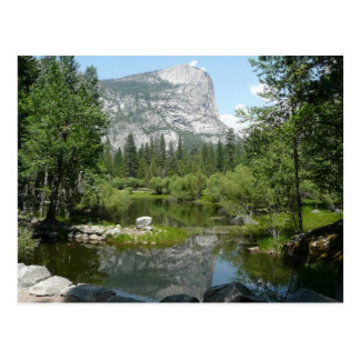 Mirror Lake View in Yosemite National Park Postcard