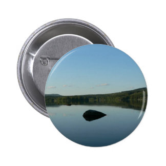 Mirror Lake With Stone In Water Pin