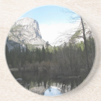 Mirror Lake - Yosemite Drink Coasters