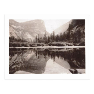 Mirror Lake, Yosemite National Park Vintage Postcard