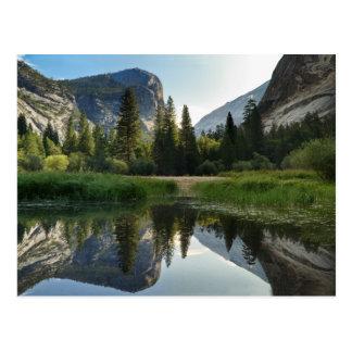 Mirror Lake, Yosemite Postcard