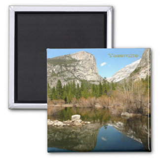 Mirror Lake, Yosemite Square Magnet