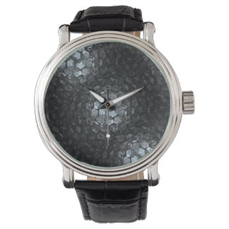 Mirror Magnet custom Fractal art Watch