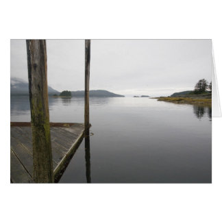 Mirror reflection Funter Bay, Alaska Card