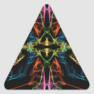 Mirror Triangle Sticker