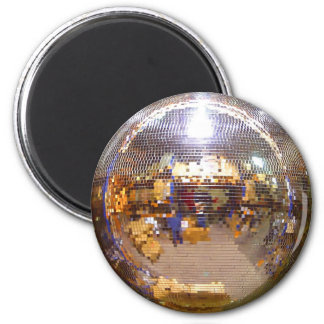 Mirrorball Disco Ball 6 Cm Round Magnet
