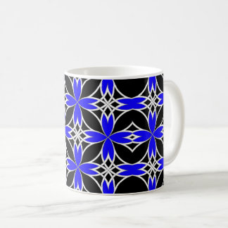 Mirrored Celtic ( Blue Invert ) Coffee Mug