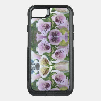 Mirrored Floral Bells For I Phone 7 OtterBox Commuter iPhone 8/7 Case