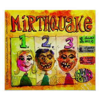 Mirthquake -- Training Activity for Adults or Kids Poster