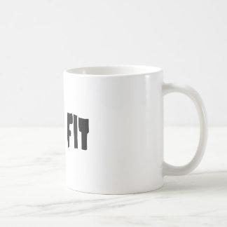 Mis. Fit Basic White Mug