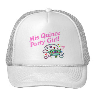 Mis Quince Party Girl Cap