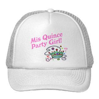Mis Quince Party Girl Trucker Hats