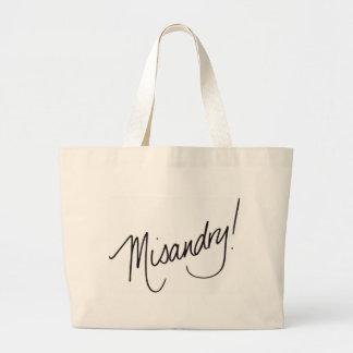 Misandry! Tote Bag