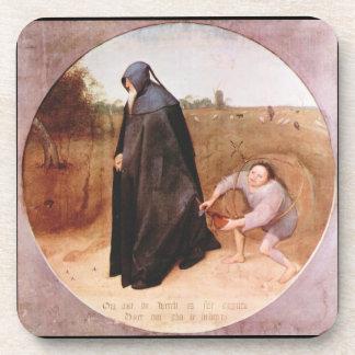Misanthrope by Pieter Bruegel Coaster