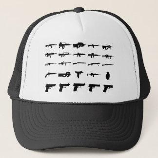 misc guns trucker hat