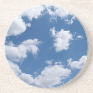 Misc Series---Clouds in a Blue Sky Drink Coasters