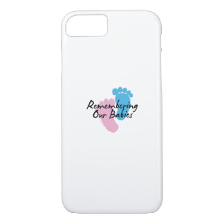 Miscarriage Awareness Remembering Our Babies iPhone 8/7 Case