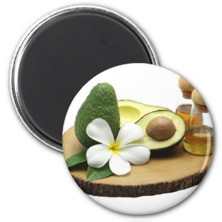 Miscellaneous - Avocado Oil Furnace 6 Cm Round Magnet