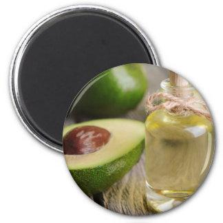 Miscellaneous - Avocado Oil One 6 Cm Round Magnet