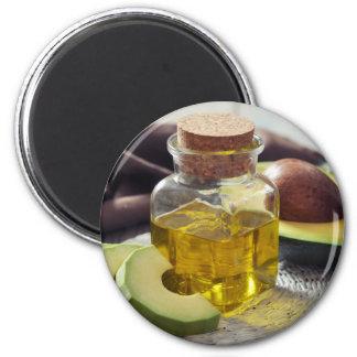 Miscellaneous - Avocado Oil Two 6 Cm Round Magnet