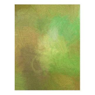 Miscellaneous - Blurred Whirlwinds Sixteen Pattern Postcard