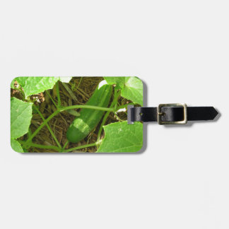Miscellaneous - Cucumber & Leaves Pattern Luggage Tag