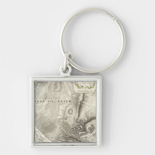 Miscellaneous geological maps key chain
